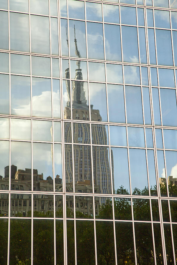 Nyc Reflection 4 Photograph by Art Ferrier