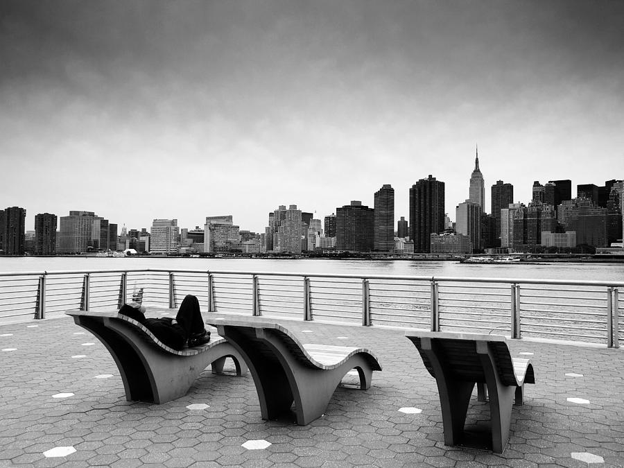 Ny Photograph - Nyc Relax by Nina Papiorek
