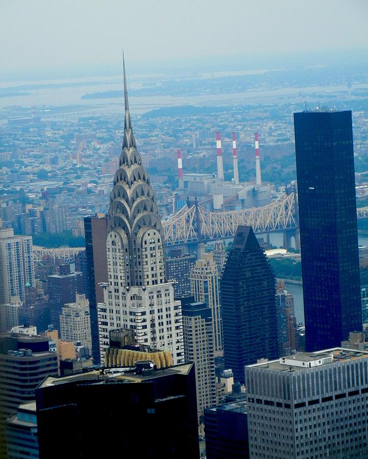 Chrysler Building Photograph - Nyc Skyline  by Catherine Morgan