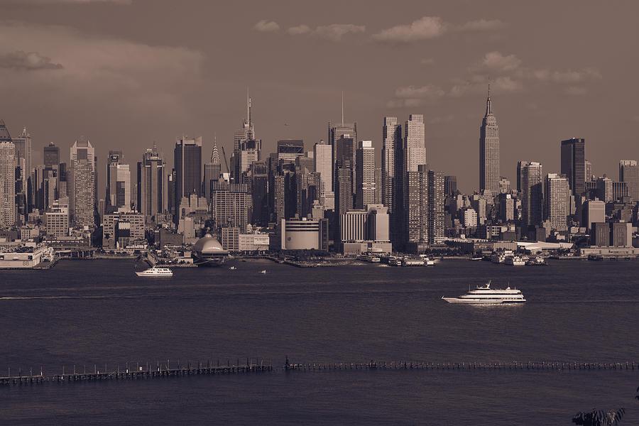 New York City Skyline Photograph - Nyc Skyline by Kirit Prajapati