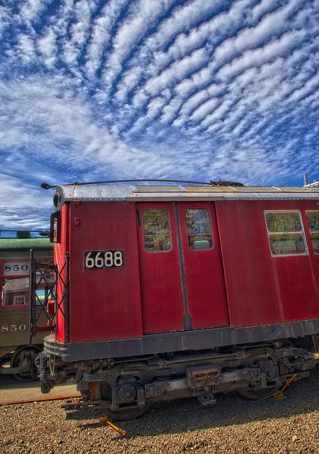 Number 7 Train Photograph - Nyc Subway No 7 by Susan Candelario