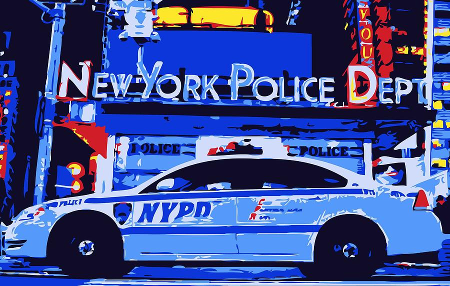 Nypd Photograph - Nypd Color 6 by Scott Kelley