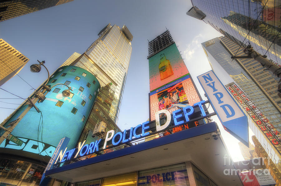 For Sale Photograph - Nypd Station by Yhun Suarez