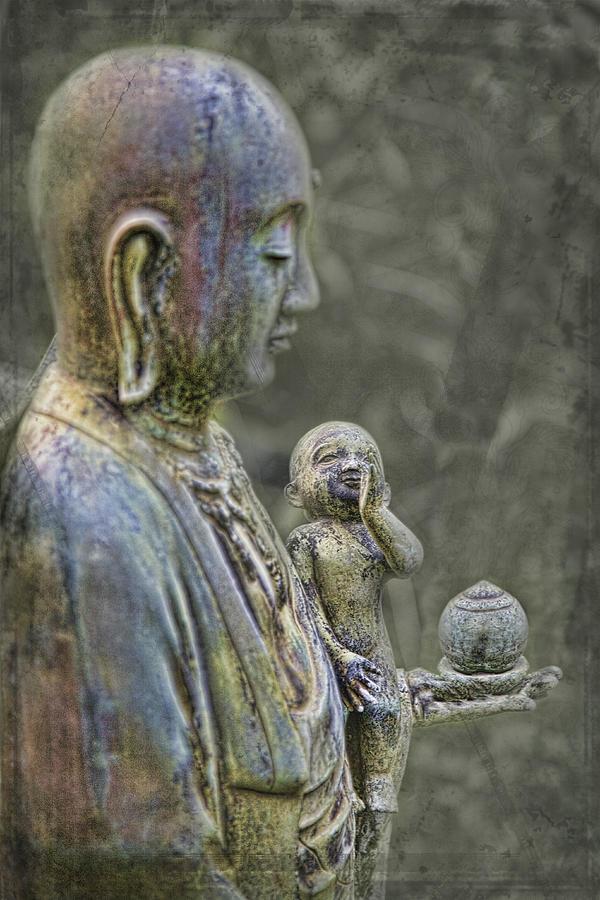 Jizo Photograph - O-jizo-sama  by Karen Walzer