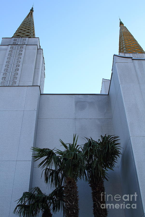 Bayarea Photograph - Oakland California Temple . The Church Of Jesus Christ Of Latter-day Saints . 7d11331 by Wingsdomain Art and Photography
