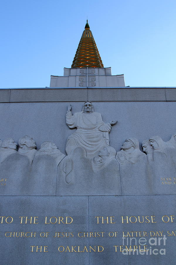 Bayarea Photograph - Oakland California Temple . The Church Of Jesus Christ Of Latter-day Saints . 7d11333 by Wingsdomain Art and Photography