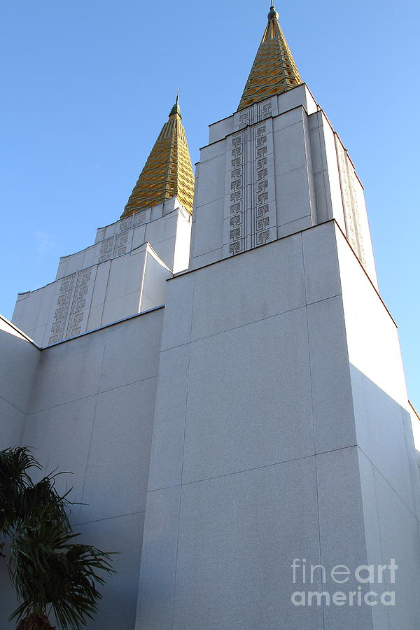 Bayarea Photograph - Oakland California Temple . The Church Of Jesus Christ Of Latter-day Saints . 7d11336 by Wingsdomain Art and Photography