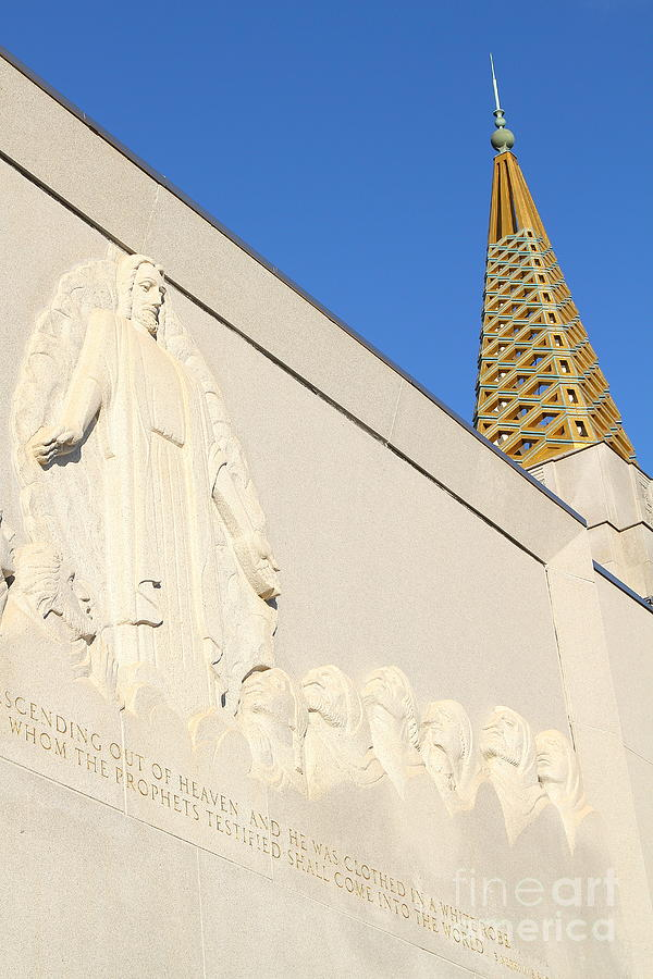 Bayarea Photograph - Oakland California Temple . The Church Of Jesus Christ Of Latter-day Saints . 7d11348 by Wingsdomain Art and Photography