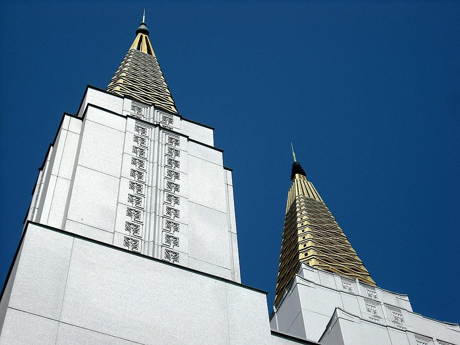 Oakland Mormon Temple by Kelly Manning