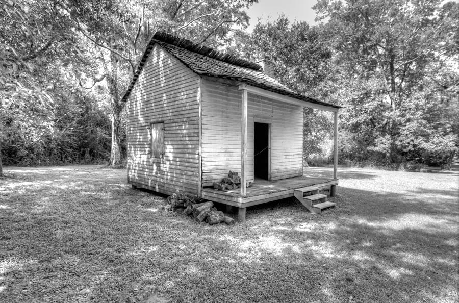 Oakley Plantation Photograph - Oakley Plantation Slaves Quarters by Bourbon  Street