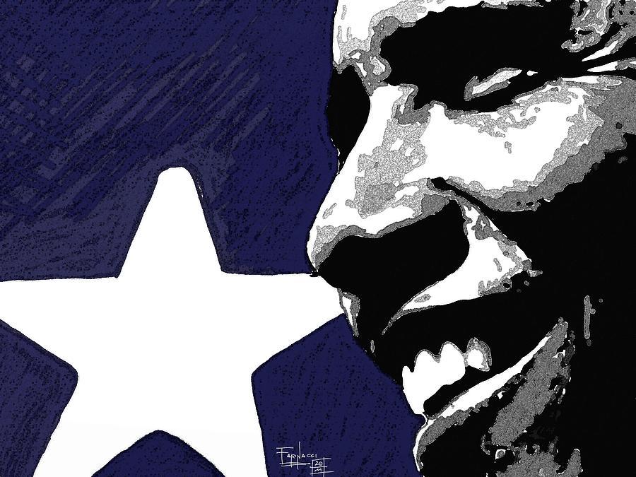 Celebrities Digital Art - Obama by Patrizio Farinacci