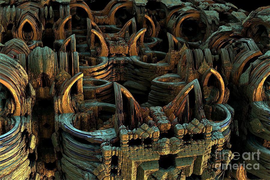 Digital Digital Art - Obsoloescence by Bernard MICHEL