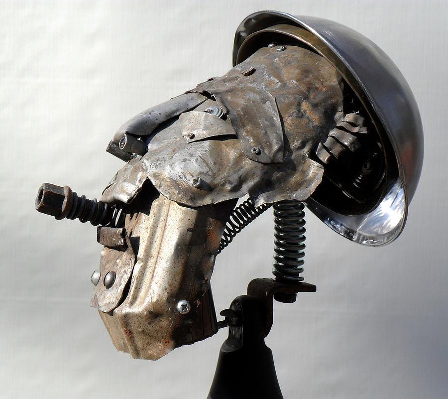 Junk Sculpture - Occupational Hazard by Chris Woodman