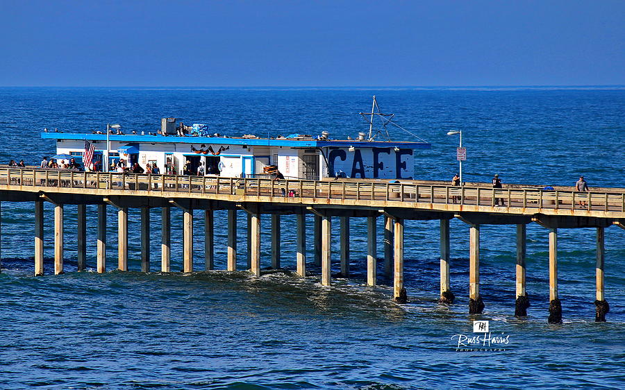 Ocean Beach Pier Cafe Photograph By Russ Harris