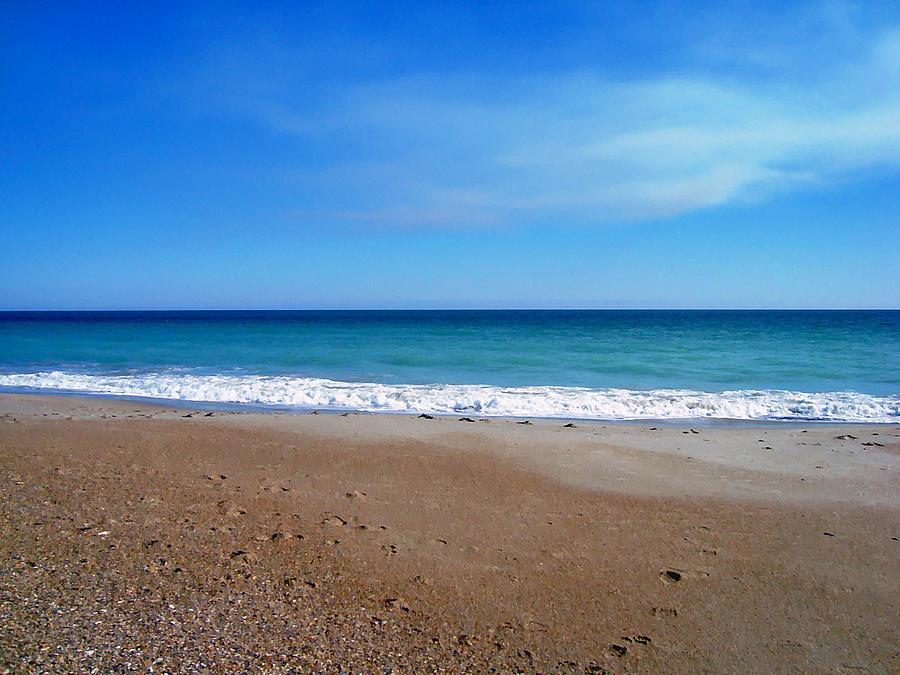 Blue Photograph - Ocean Blue by Joan Meyland