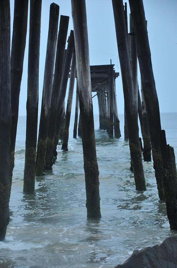 Ocean City 59th Street Pier Photograph - Ocean City 59th Street Pier by Bill Cannon
