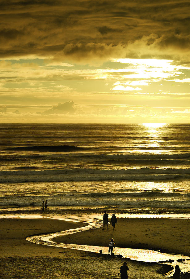 Pacific Ocean Photograph - Ocean Play 2 by Dale Stillman