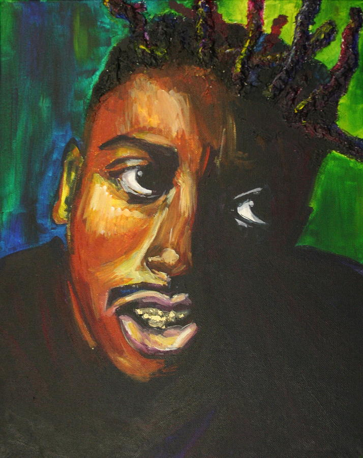 Ol' Dirty Bastard Painting - ODB by Kate Fortin