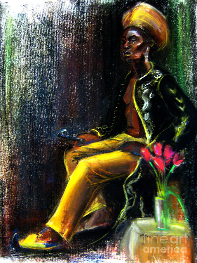 Man Drawing - Odelisque by Gabrielle Wilson-Sealy