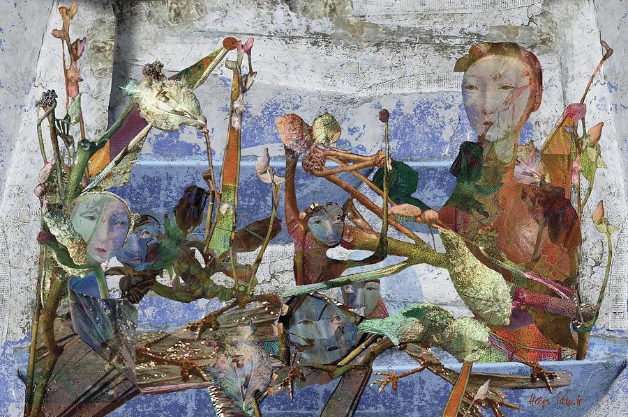 Fantasy Digital Art - Odyssey by Helga Schmitt