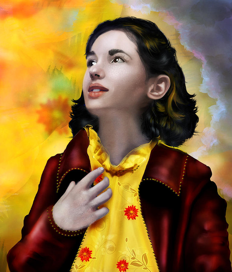Ofelia Digital Art - Ofelias Dream by Mary Hood