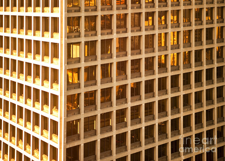 Architecture Photograph - Office Building by David Buffington
