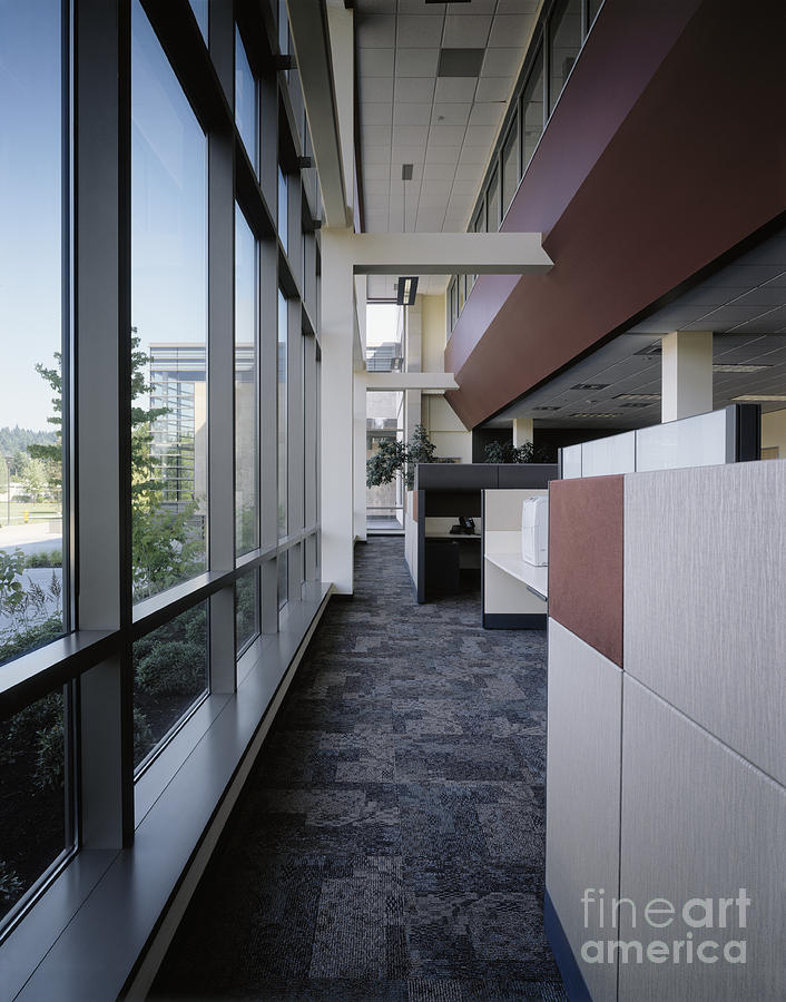 Architecture Photograph - Office by Robert Pisano