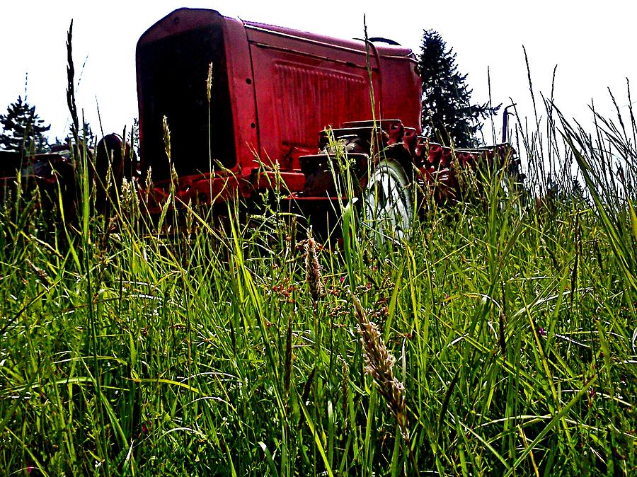 Machinery Photograph - Ol Red  by Kevin D Davis