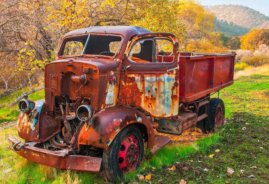 California Photograph - Old And Broken by Marc Crumpler