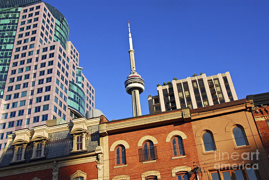 Toronto Photograph - Old And New Toronto by Elena Elisseeva