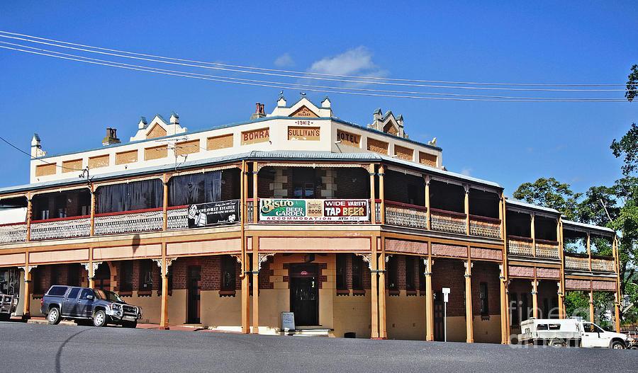 Pub Photograph - Old Aussie Pub by Kaye Menner