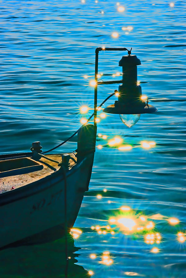 Sea Digital Art - Old Boat by Darko Vrbica