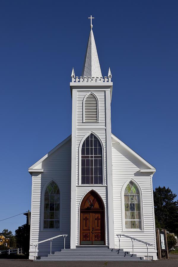 Bodega Photograph - Old Bodega Church by Garry Gay
