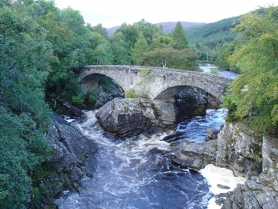 Old Bridge at Invermoriston by Charles and Melisa Morrison