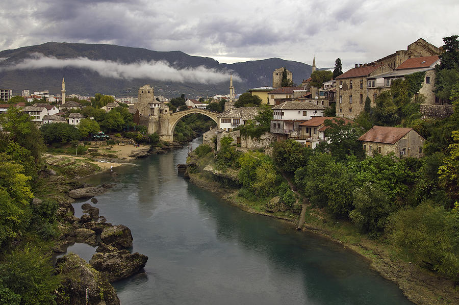Mostar Photograph - Old Bridge Of Mostar by Ayhan Altun