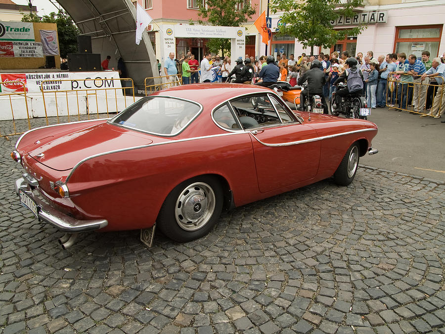 Jaguar Photograph - Old Car Volvo by Odon Czintos