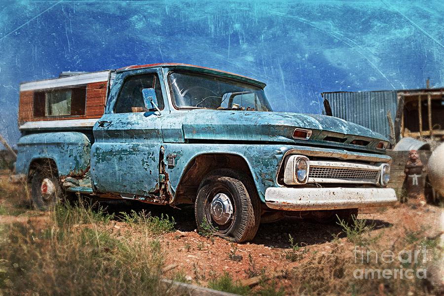Old Chevy Pickup Photograph by Matt Suess