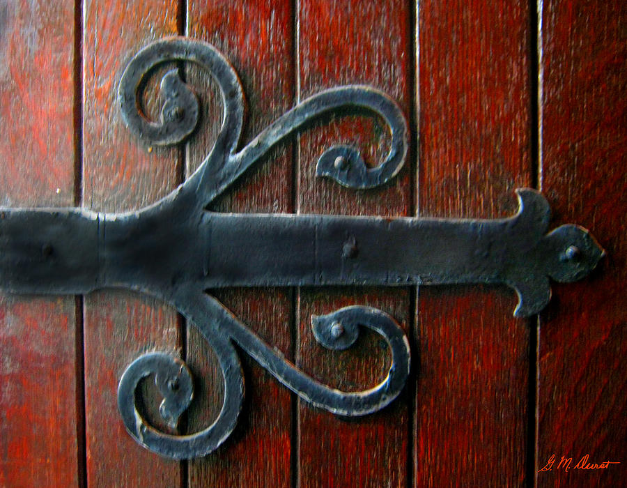 Superieur Hinge Photograph   Old Church Door Hinge By Michael Durst
