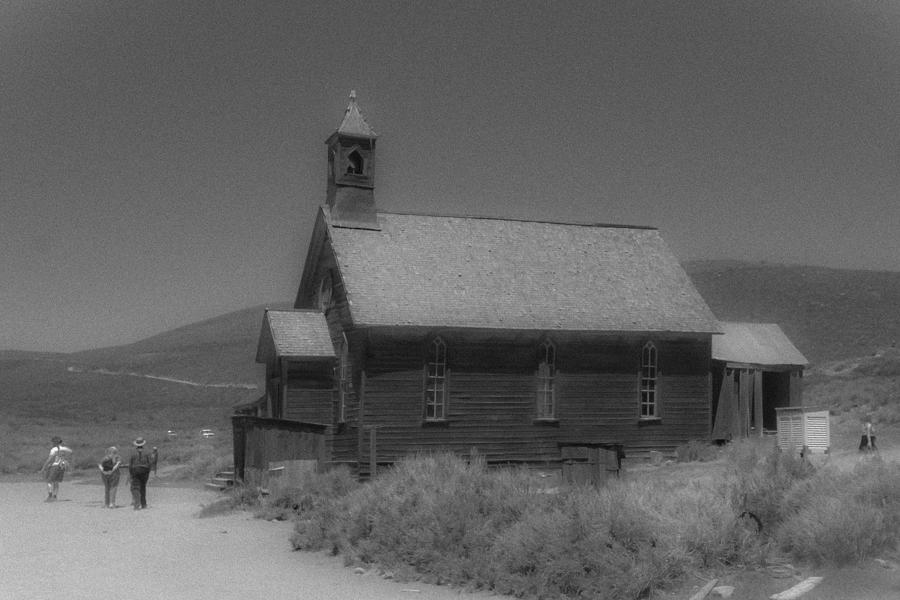 Bodie Photograph - Old Church by Richard Balison