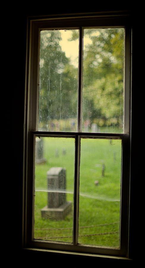 Window Photograph - Old Church Window by James Massey