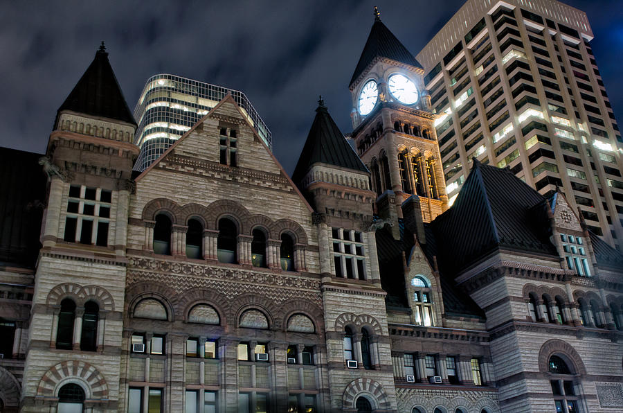 Architecture Photograph - Old City Hall by Luba Citrin