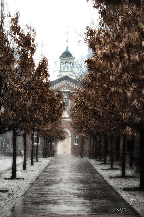 Old City Hall Philadelphia Photograph - Old City Hall Philadelphia by Bill Cannon