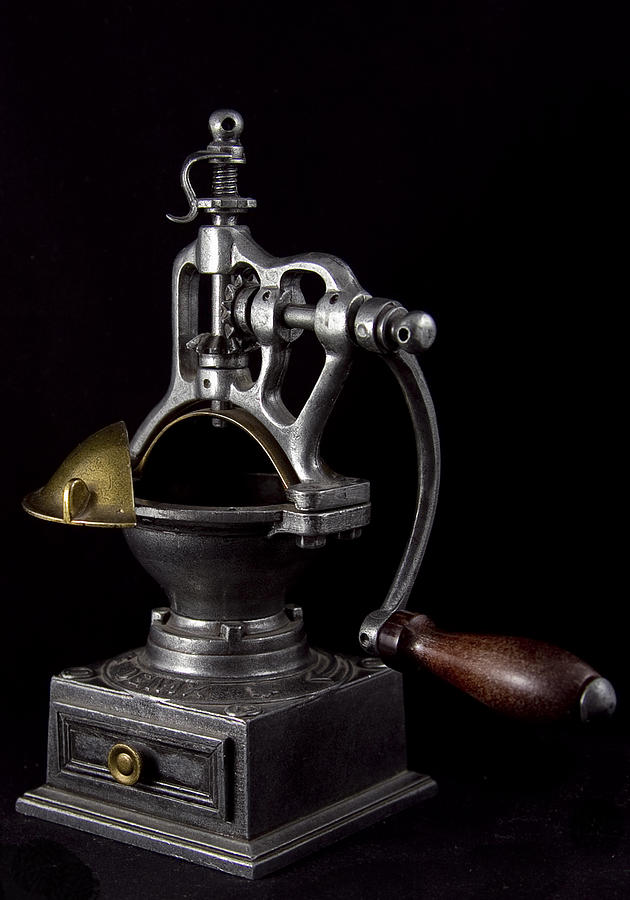 Historical Artifacts Sculpture - Old Coffee Machine by Zafer GUDER