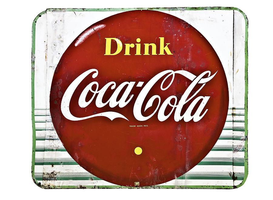 Old Coke Sign Photograph by Susan Leggett