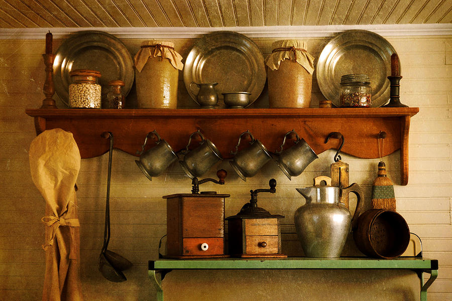 Antiques Photograph - Old Country Life by Carmen Del Valle