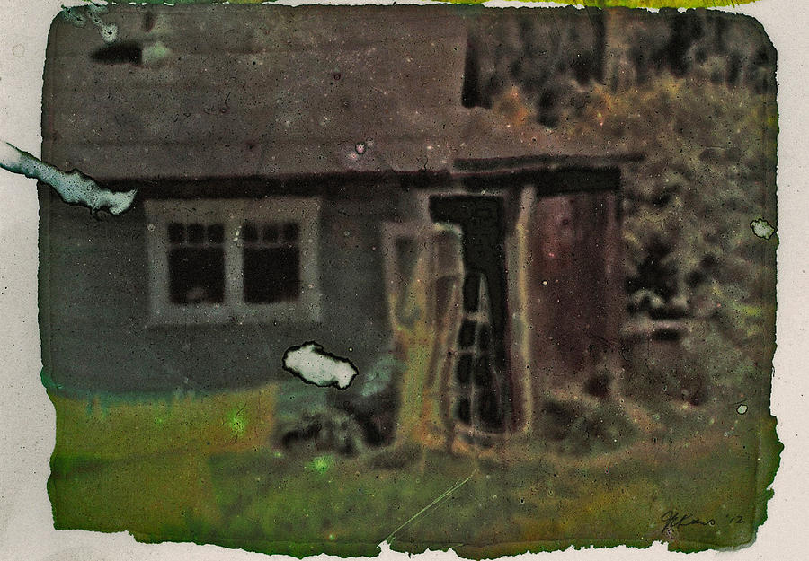 Cottage Photograph - Old Cove Cottage  by Janet Kearns