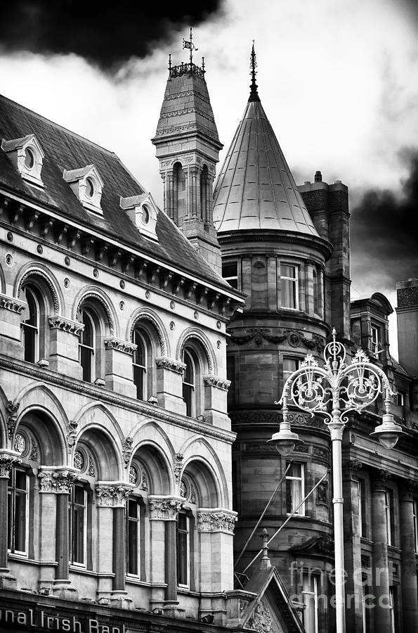 Buildings Photograph - Old Dublin by John Rizzuto