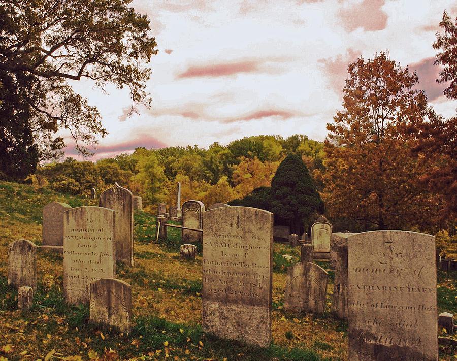 Old Dutch Hurch Graveyard Photograph by Mark K