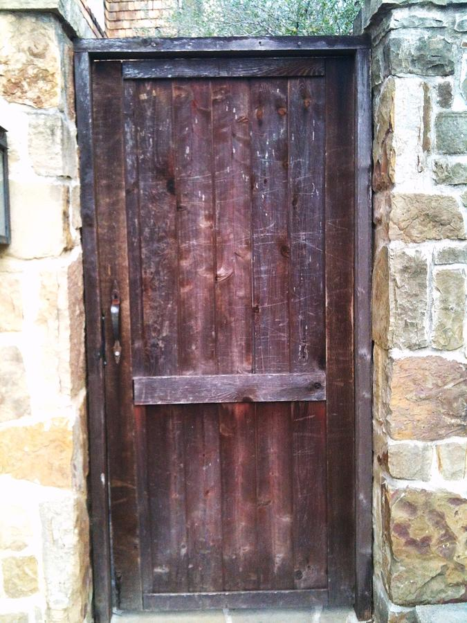 Glastonbury Photograph - Old English Door by Shawn Hughes