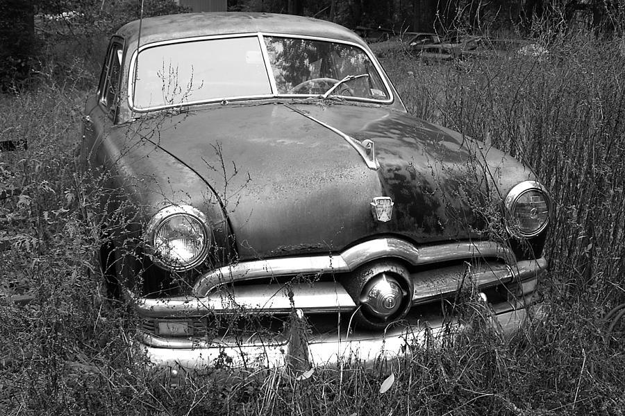 Car Photograph - Old Ford Car by Susan Cliett & Old Ford Car Photograph by Susan Cliett markmcfarlin.com